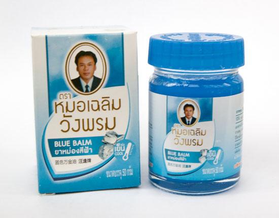 Blue balm тайская мазь